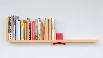چگونه دراتاقهای کوچک قفسه کتاب درست کنیم ؟
